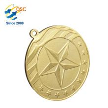 Nuevo producto Excelente calidad Nuevo diseño 3D Logotipo personalizado Medalla deportiva Deporte Medallón Fútbol Liga Desafío Moneda