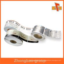high quality Eco-friendly roll sticker with custom logo printing