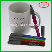 Creative Jumbo amendable pen to write on ceramic