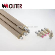 OLITER platinum-thodium expendable steel hotsale type s disposable thermocouple for salt bath furnace