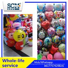 Balão de látex 10 centímetros metálicos Color Printable Ballons 12 polegadas, Metal Balloons Fábrica de hélio Atacado