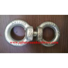 Heavy Duty Zinc Plated DIN580 Eye Bolt with DIN582 Eye Nut for Fastener