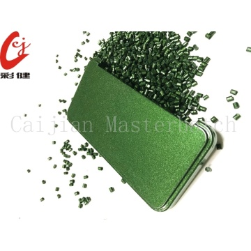 Spraying Free Green Masterbatch Granule