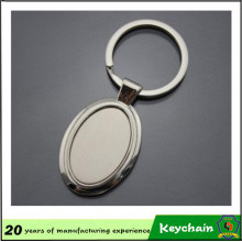 Chaveiro de Metal em branco promocional de forma personalizada