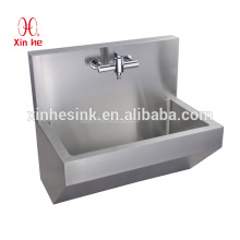Durable Stainless Steel hospital medical Surgical Scrub sink medical hand Washing Trough with sensor tap