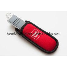 Boîtier USB personnalisé en néoprène personnalisé
