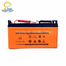 3 anos de garantia baterias de armazenamento de ciclo profundo de baixa manutenção à prova d'água