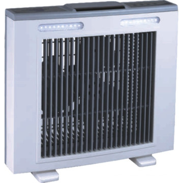 Rechargeable Emergency Box Fan with Search Light and Remote