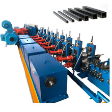 GEI Carbon SS Steel Square Pipe Making Machine ERW Tube Forming Mill Flying Saw 20/32/50/60/76mm