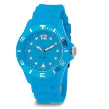 Wasserdichte Farbe Eco-Friendly Silicon Watch