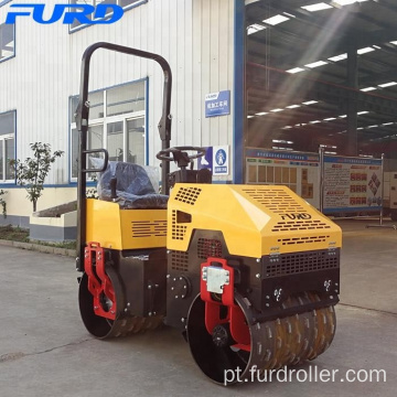 FYL-G880 Mini Trench Road Roller for Sale to Australia