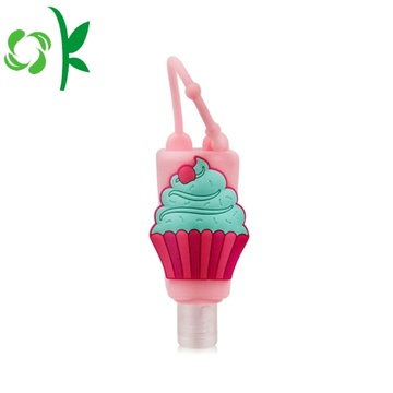 Lindo Animal Silicone Hand Sanitier Jabonera Tipo Holder