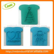 2014 Hot Food Grade Plastic Toast Stamp