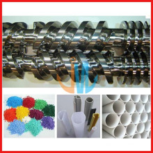 38CrMoAlA Tornillo gemelo paralelo y cilindro para PP, PE, PVC