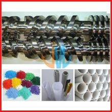 Parafuso duplo paralelo e cilindro para extrusora