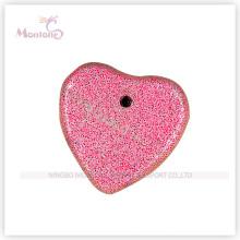Red Heart Shaped Bimsstein für Fußpflege