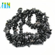 Gemstone Preto Natural Obsidian Chips Beads