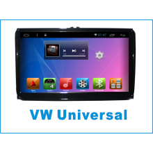 Sistema de Android GPS para VW Universal 9 pulgadas de pantalla táctil con reproductor de DVD de coche