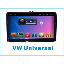 Android System Car GPS pour VW Universal 9 pouces à écran tactile avec lecteur DVD de voiture