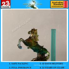 6.38-42.3mm gris oscuro PVB laminado de vidrio con AS / NZS2208