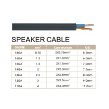Male Audio Speaker Cable