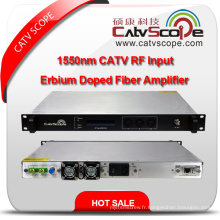 1550nm CATV RF Entrée EDFA Erbium Doped Fiber Amplifier