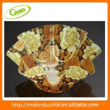 Plateau de plastique de design luxueux (RMB)