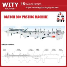 Carton Box Folding and Gluing Machine