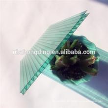 farbig glitzernde Polycarbonat Sonnencreme / Kristall Polycarbonat Sonnencreme / Mattglas aus Polycarbonat