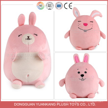 ICTI Approved Toy Factory Custom Stuffed Plush Bunny Keychain