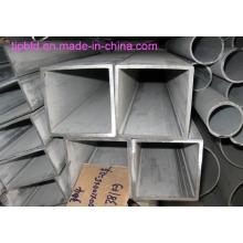 304/316 Rectangular Stainless Steel Seamless Pipe