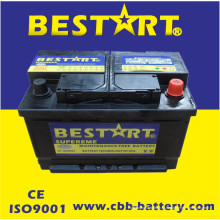 Baterias de carro novas do automóvel 12V66ah para o auto começo do veículo
