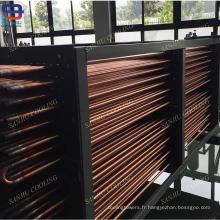 Bobines d'échangeur de chaleur de tube de cuivre pour des tours de refroidissement