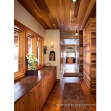 Casa de madeira Eco-Amigável com madeira de madeira do cedro vermelho.