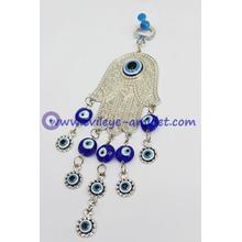 Lucky Hamsa Hand Wall Hanging Home Blessing Evil Eye
