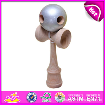 Funny Wooden Toy Kendama, Popular Wooden Kendama Toy, Latest Wooden Toy Kendama, Wooden Kendama Toy with 18.5*6*6.8cm W01A024
