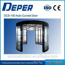 Puerta de vidrio corredera curva automática DPER