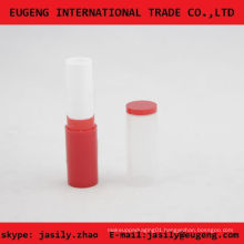 slim cute lip balm container with clear cap