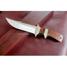 Madeira punho fixo faca (SE-A09)