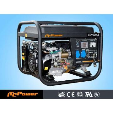 7.5kva portable air cooled three phase gasoline(petrol) Generator Set