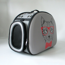 New transparent pet bag foreign trade 3D pattern outing portable backpack