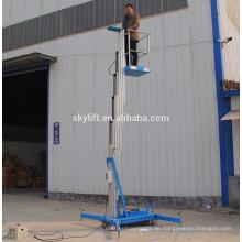 fahrbarer Aluminium-Einmann-Arbeitsaufzug