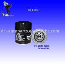 Hyundai Filtre à huile & Brono Filtre à huile & Ford Filtre à huile 26300-42000
