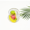 High Quality Kitchen Stainless Steel  Metal Wire Storage Basket Wire Mesh Kitchen Vegetable Fruit Basket