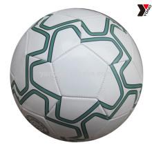 Оптовая надуть миниый Размер 3 ТПУ кожаный выдвиженческий шарик футбола