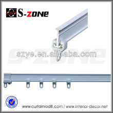 Good sliding silent PVC plastic Germany curtain used rail tracks for sale