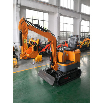 Crawler Mini Small Garden Digging Machine 1.7t Περπάτημα προς πώληση 0,8 Ton με Koop Engine China Brand Excavator