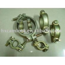 Interlocking hose clamp