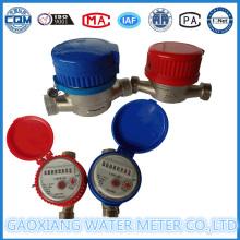 Medidor de água do tipo Jet Single Dry do fabricante (DN15-DM25)
