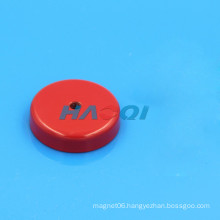 Red ceramic cup magnet magnetic base